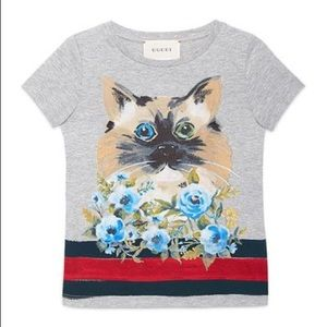 GUCCI GIRLS TEE 10 authentic